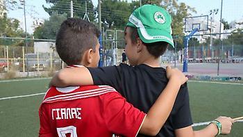 Μασούρας και παίκτες του Παναθηναϊκού έστειλαν το μήνυμα: «Δεν είμαστε αντίπαλοι» (pics)