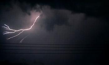 Καταιγίδα σάρωσε τη δυτική πλευρά της Θεσσαλονίκης