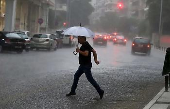 Πτώση της θερμοκρασίας και καταιγίδες
