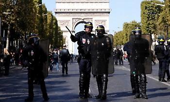 Παρίσι: Πάνω από 100 συλλήψεις διαδηλωτών των «κίτρινων γιλέκων»