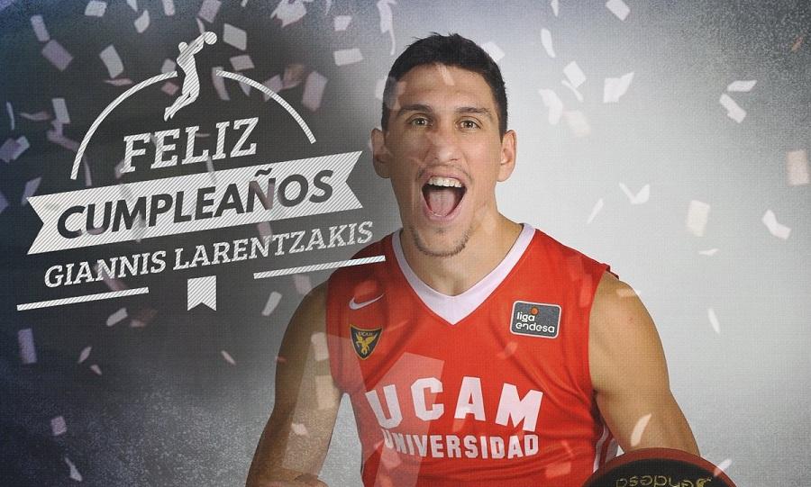 Ευχές της ACB στον Λαρεντζάκη (pic)