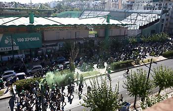 Το συλλαλητήριο του Παναθηναϊκού στη Λεωφόρο (pics)