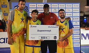 Η ομάδα του Γλυνιαδάκη νικήτρια στους αγώνες 3on3 των VIP! (pics)