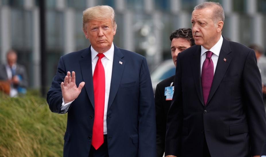 Τηλεφωνική επικοινωνία Τραμπ - Ερντογάν