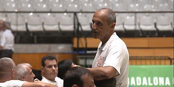 Επισκέφθηκε το Eurohoops Dome και τα είπε με τον Παπαλουκά ο Έτορε Μεσίνα! (photo)