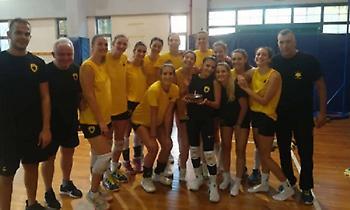 Φιλική νίκη για τα κορίτσια της ΑΕΚ