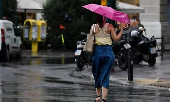 Καιρός: Ισχυρές κατά τόπους βροχές και πτώση της θερμοκρασίας