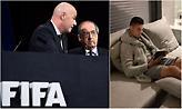 Θυμωμένη η FIFA με την απουσία Κριστιάνο Ρονάλντο από τα «Best Awards»