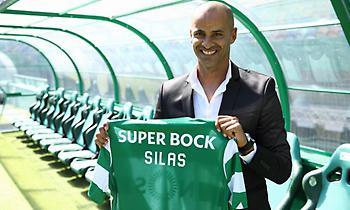 Ο Σίλας νέος προπονητής της Σπόρτινγκ