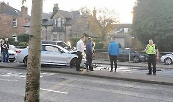 Ενεπλάκη σε τροχαίο ατύχημα ο Ντεφό! (pics)
