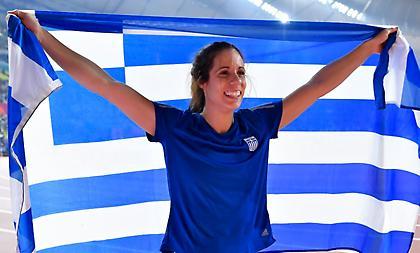 Στεφανίδη: «Χαρούμενη για το χάλκινο στον καλύτερο αγώνα που έγινε ποτέ»