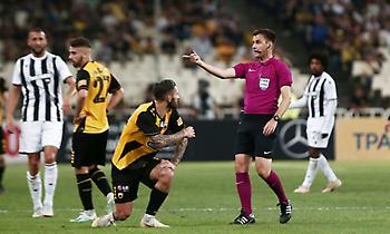 Η ΑΕΚ πέτυχε τρία κανονικά γκολ και δεν υπήρχε κανένα φάουλ του Κρίστιτσιτς