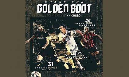 «Μάχη» Κάρλος Βέλα - Ιμπραΐμοβιτς για το «Χρυσό Παπούτσι» στο MLS