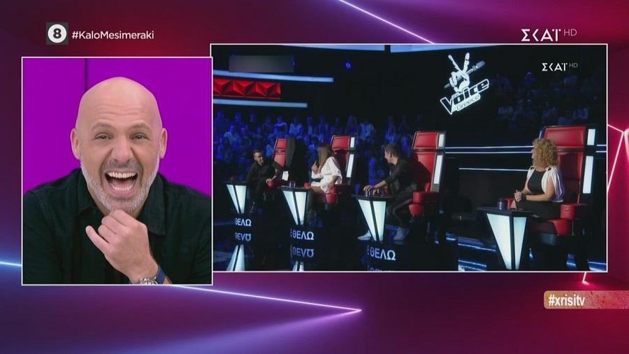 Η αντίδραση του Μουτσινά στα «ισπανικά-καρδιτσιώτικα» της Παπαρίζου (video)