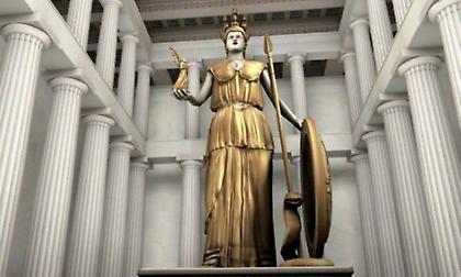 Το έργο τέχνης του Φειδία: Τι απέγινε το χρυσελεφάντινο άγαλμα της Αθηνάς με τον 1 τόνο χρυσού