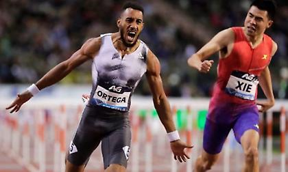 Δικαιώθηκε ο Ορτέγκα και παίρνει χάλκινο στα 110  μέτρα με εμπόδια