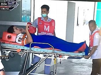 Ατύχημα ο Μάρκεθ, μεταφέρθηκε στο νοσοκομείο (video)