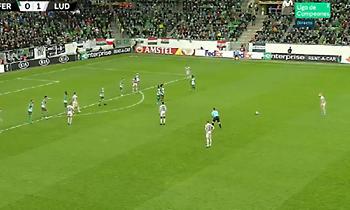 Γκολ α λα Ρομπέρτο Κάρλος στο Top 5 της αγωνιστικής στο Europa League (video)
