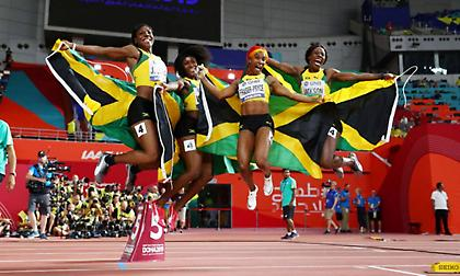 «Άνεμος» οι Τζαμαϊκανές