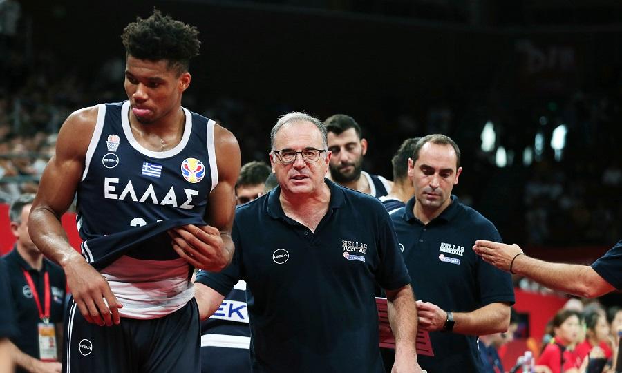Με Σκουρτόπουλο και στα προκριματικά του Ευρωμπάσκετ 2021 η Εθνική