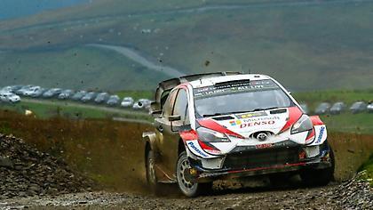 Αγκάλιασε τον τίτλο στο WRC ο Τάνακ