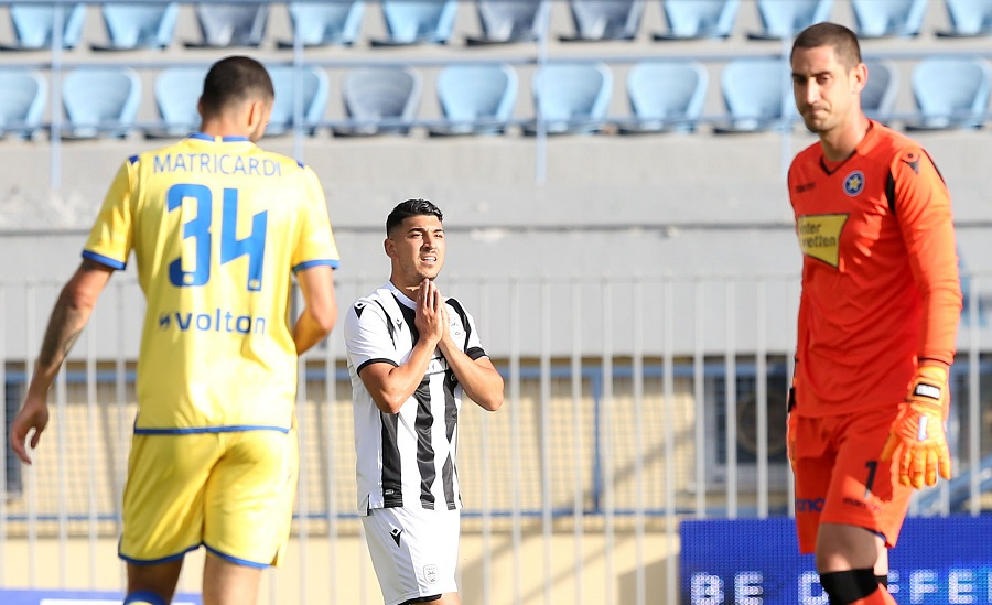 LIVE: Αστέρας Τρ. - ΠΑΟΚ 1-2