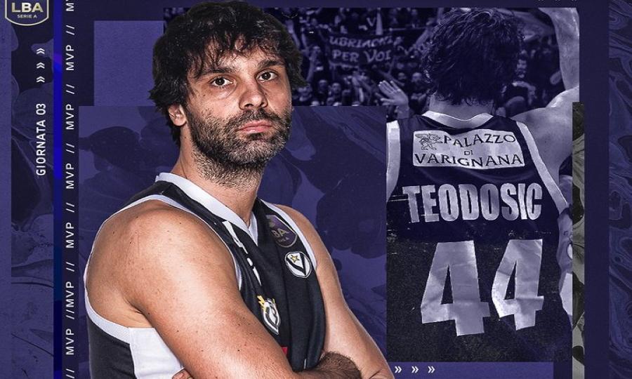 MVP της τρίτης αγωνιστικής του ιταλικού πρωταθλήματος ο Τεόντοσιτς!