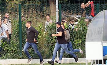Χαμός στο Βοϊβοντίνα-Μπρέσια λόγω... αλβανικής σημαίας (pics)