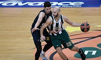 Παναθηναϊκός: Μια… ανάσα από τους 2.000 πόντους ο Καλάθης στην Basket League!