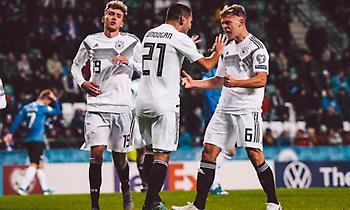 «Διπλό» από… σπόντα και κορυφή για τη Γερμανία