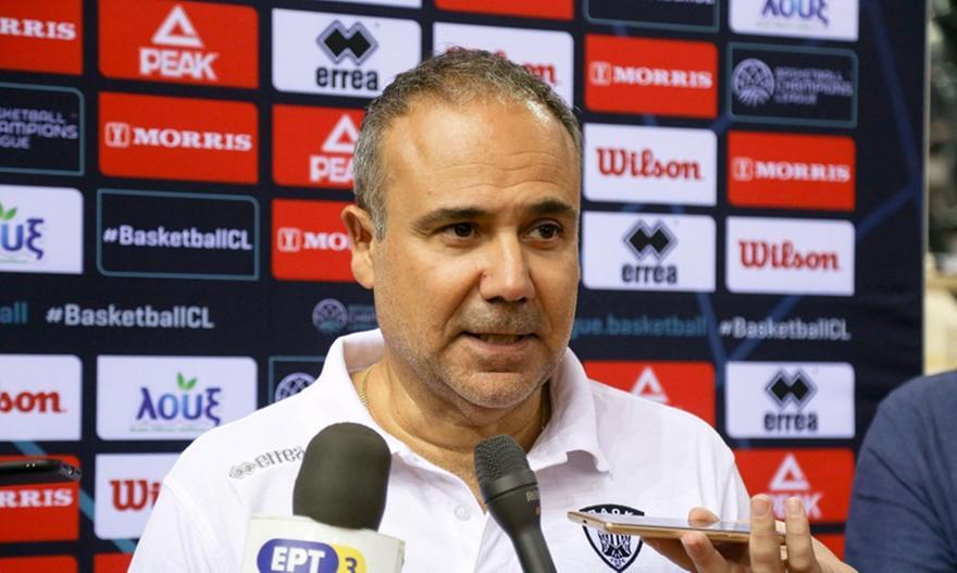Φλεβαράκης: «Για το καλύτερο δυνατό στο BCL ο ΠΑΟΚ»