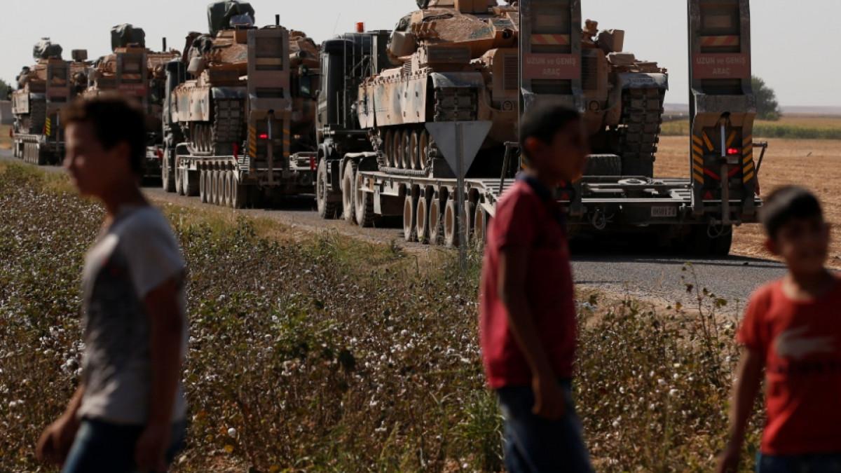 Ανεβαίνει το θερμόμετρο στην Συρία: Στην Μανμπίζ ο συριακός στρατός