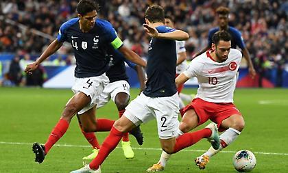 Άνοιξε το σκορ η Γαλλία – Ισοφάρισαν γρήγορα οι Τούρκοι
