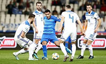LIVE: Ελλάδα-Βοσνία 0-0