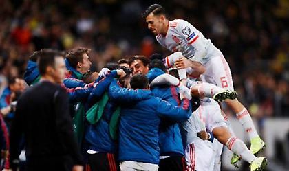 Στο Euro με γκολ του Μορένο στις καθυστερήσεις η Ισπανία - Μάχη Σουηδίας με Ρουμανία για τη 2η θέση