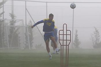 Προπόνηση υπό ομίχλη στον Αστέρα Τρίπολης (pics)