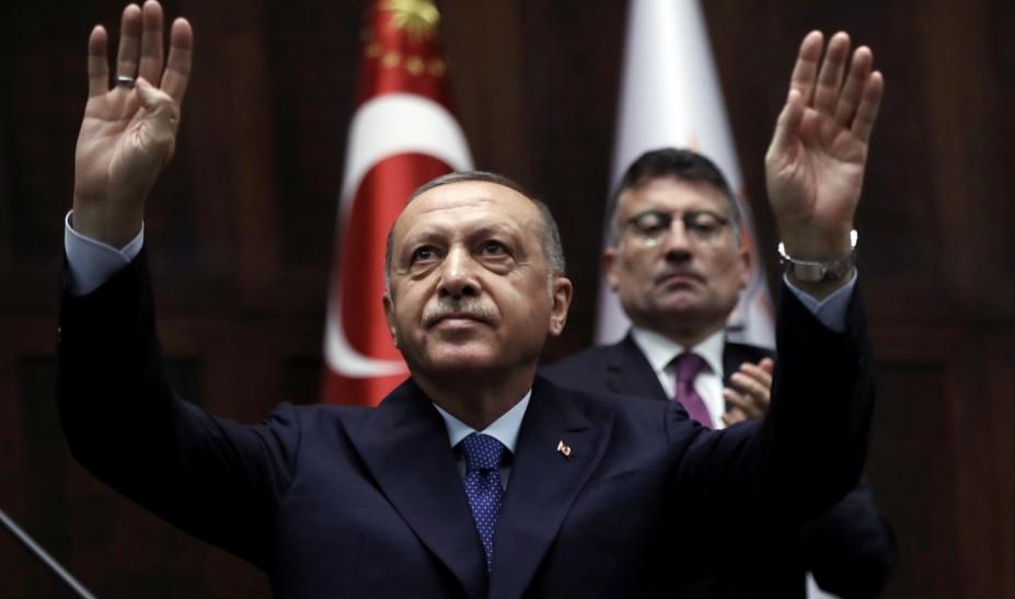 Ανατροπή: Ο Ερντογάν δηλώνει ότι η ασφαλής ζώνη περιλαμβάνει Κομπάνι και Μανμπίτζ