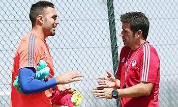 Ρομπέρτο: «Περάσαμε καλές στιγμές με τον Μάρκο στον Ολυμπιακό»