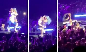 Επική τούμπα της Lady Gaga (vids)