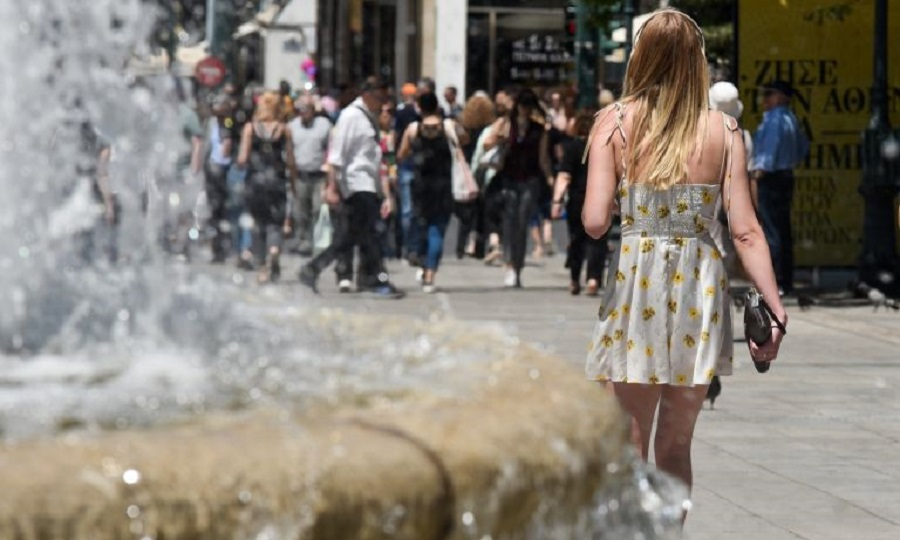 Καλοκαίρι και σήμερα - Παραμένει ψηλά η θερμοκρασία