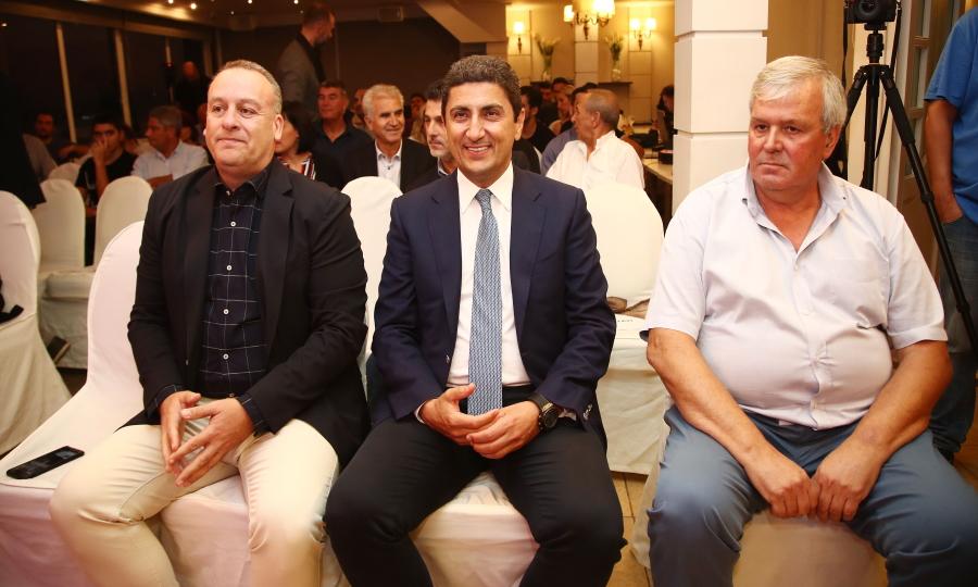 Αυγενάκης στην κλήρωση της Volley League: «Στεναχωρήθηκα που η ΑΕΚ δεν θα βρίσκεται στην κλήρωση»