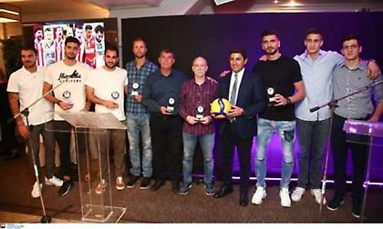 Οι βραβεύσεις της Volley League