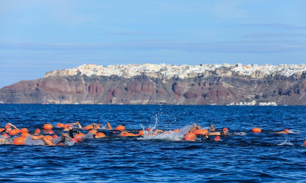 Υψηλού επιπέδου αθλητές στο Santorini Experience 2019