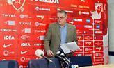 Πρόεδρος Ερυθρού Αστέρα: «Ο Τόμιτς έλυσε τη συνεργασία του με την ομάδα»