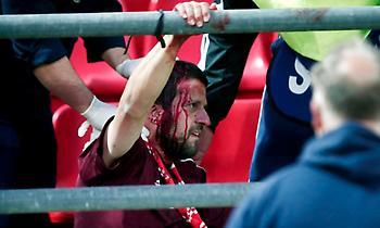 Εισβολή κουκουλοφόρων και διακοπή στο Ολυμπιακός-Μπάγερν για το Youth League! (video)