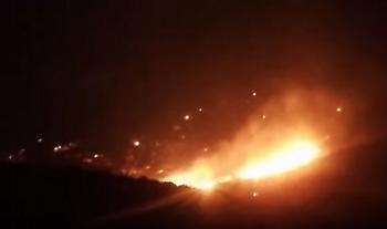 Συνταρακτικό βίντεο από την μεγάλη πυρκαγιά στο Πόρτο Ράφτη