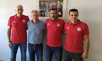 Ανέλαβε και επίσημα τις ακαδημίες του Ολυμπιακού ο Νικοπολίδης