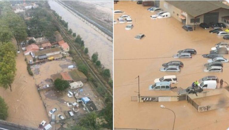 Ισπανία: Ένας νεκρός και 4 αγνοούμενοι στις πλημμύρες που σαρώνουν την Καταλονία
