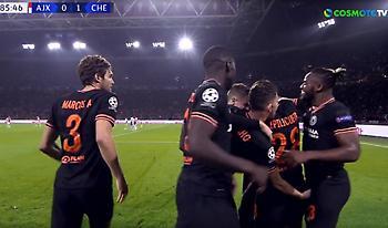 Ο Ζορζίνιο… «χούφτωσε» τον Μπατσουαγί μετά το γκολ της Τσέλσι (video)