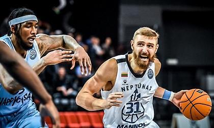 Νεπτούνας: Η επόμενη αντίπαλος του ΠΑΟΚ στο Basketball Champions League!